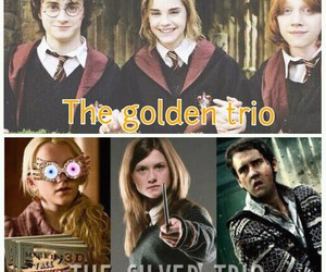 harry potter, the golden trio, and the silver trio image