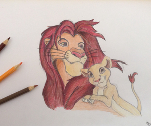 brown, disney, and draw image