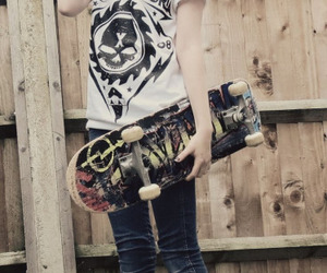skate, skater, and outfit image