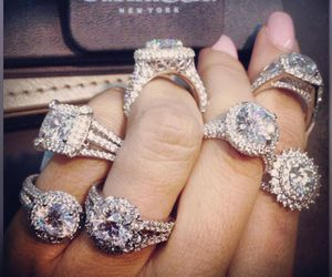 diamonds, expensive, and jewerly image