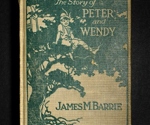 peter pan and james m. barrie image