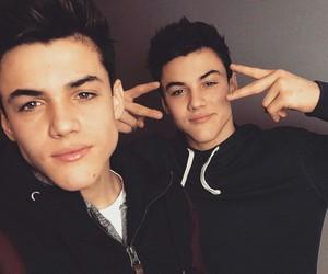 boy, ethan, and twins image