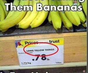 funny, banana, and lol image