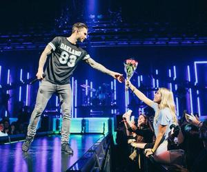 fan, flowers, and maroon 5 image