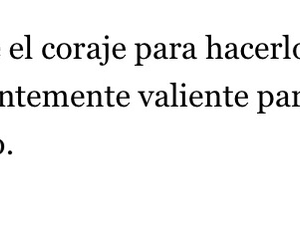 frases, sad, and valiente image