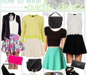 colorful, flowers, and outfits image