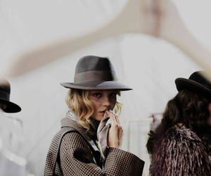 backstage, fashion, and hat image