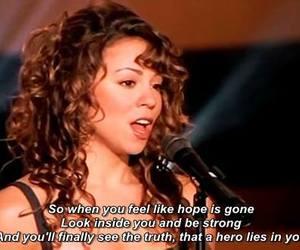 hero and Mariah Carey image