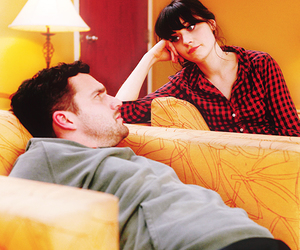 new girl, zooey deschanel, and jake johnson image