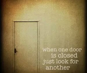 closed, opportunity, and door image