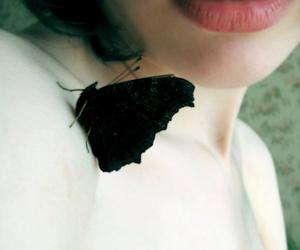 beauty, grunge, and black image