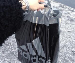 grunge, adidas, and black image