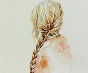 art, watercolour, and cool image