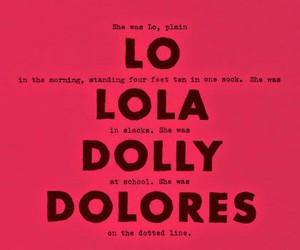 book, dolores haze, and lolita image