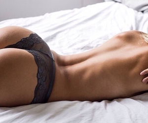 beauty, underwear, and woman image