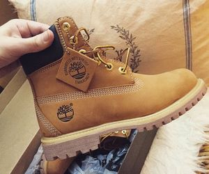 shoes, fashion, and timberland image