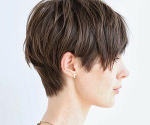 beauty, haircut, and short hair image