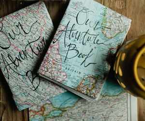 adventure, travel, and book image