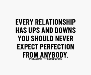 perfection, quotes, and Relationship image