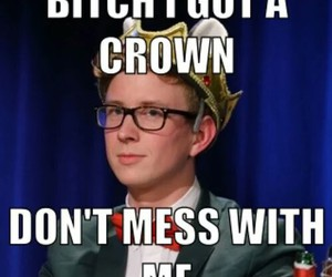 crown, tyler oakley, and youtube image
