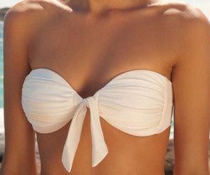 bikini, tan, and fashion image