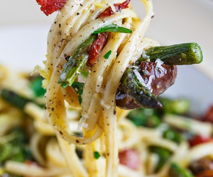 food, pasta, and lunch image
