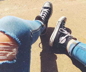 converse, fashion, and grunge image
