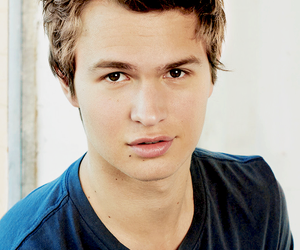 ansel elgort, divergent, and Hot image