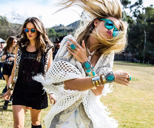 coachella, party, and instagram image