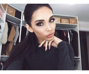 girl, makeup, and luxury image