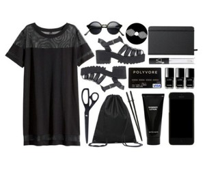 am, black, and grunge image