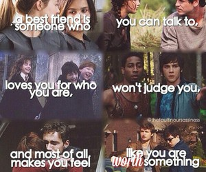 best friend, the mortal instruments, and percy jackson image