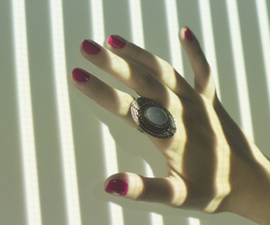 color, ring, and fingers image