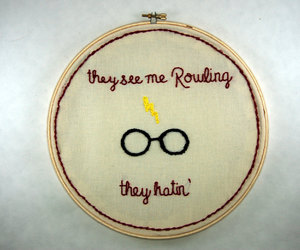etsy, harry potter, and hoop art image
