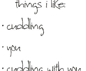 boyfriend, couple, and cuddle image