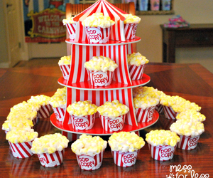 cupcakes and popcorn image