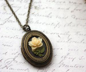 jewelry, locket, and pretty image