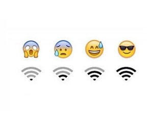 wifi and emoji image