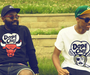 chicago bulls and dope chef image
