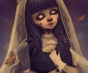 corpse, doll, and dark art image