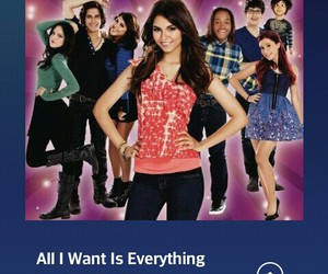 victoria justice, ariana grande, and victorious cast image