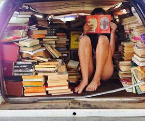 books and car image