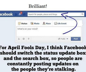 april, fools, and funny image