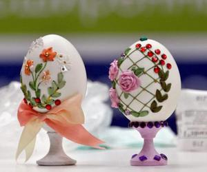creative, easter, and eggs image