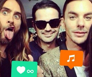 30 seconds to mars, amor, and jared leto image