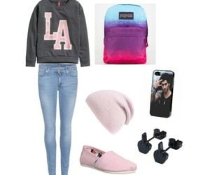 backpack, casual, and hat image