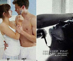 books, couple, and fifty shades darker image