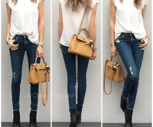 bag, outfit, and purse image