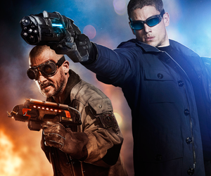 the flash, captain cold, and flash image