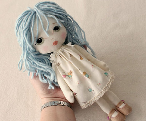 doll, sweet, and girl image